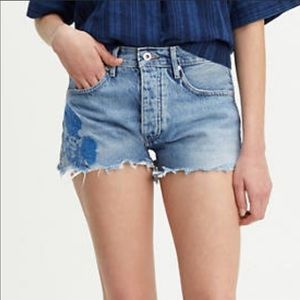 Levi's Made & Crafted High-Rise Embroidered Short